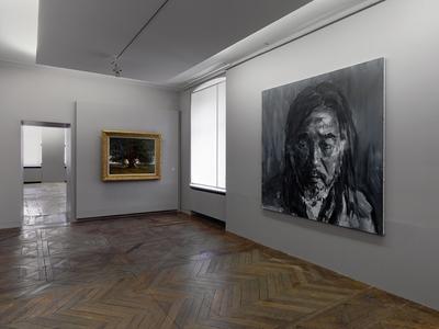 Yan Pei-Ming face à Courbet