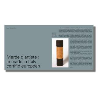 """Presentazione del libro """"Merda d'artista Künstlerscheisse Merde d'artiste Artist's Shit"""""""