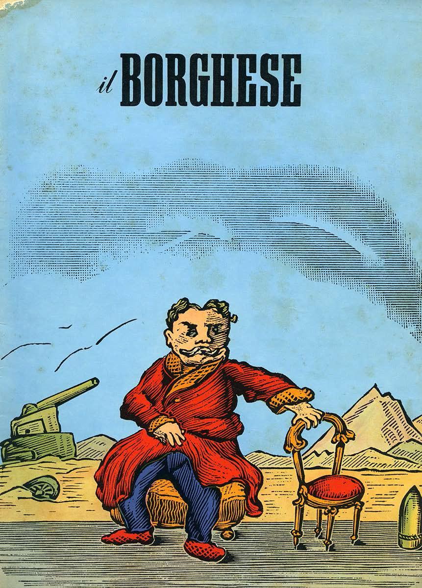 """Un campione del nostro tempo, """"Il Borghese"""", Milano, n. 38, 21 settembre 1961"""