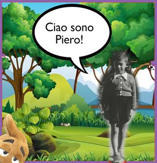 Caccia al nome - Name hunt, Hi, I'm Piero!