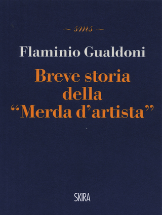 "Breve storia della ""Merda d'artista"", Copertina del libro"