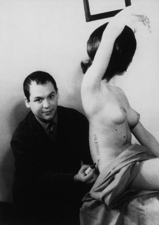 Biografia - Biography, Piero Manzoni a Milano, 1961
