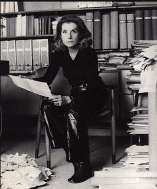 Un filmato sulla querelle che vede protagonista la Merda d'artista nel 1971, Palma Bucarelli nel suo studio  Palma Bucarelli in her studio
