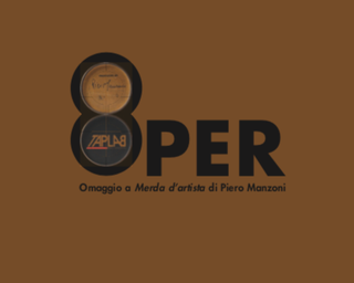 8PER / Omaggio a Merda d'artista di Piero Manzoni