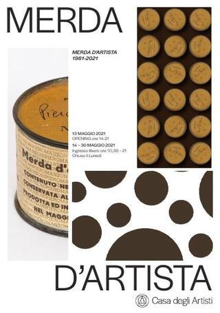 Invito a 8PER / Omaggio a Merda d'artista di Piero Manzoni