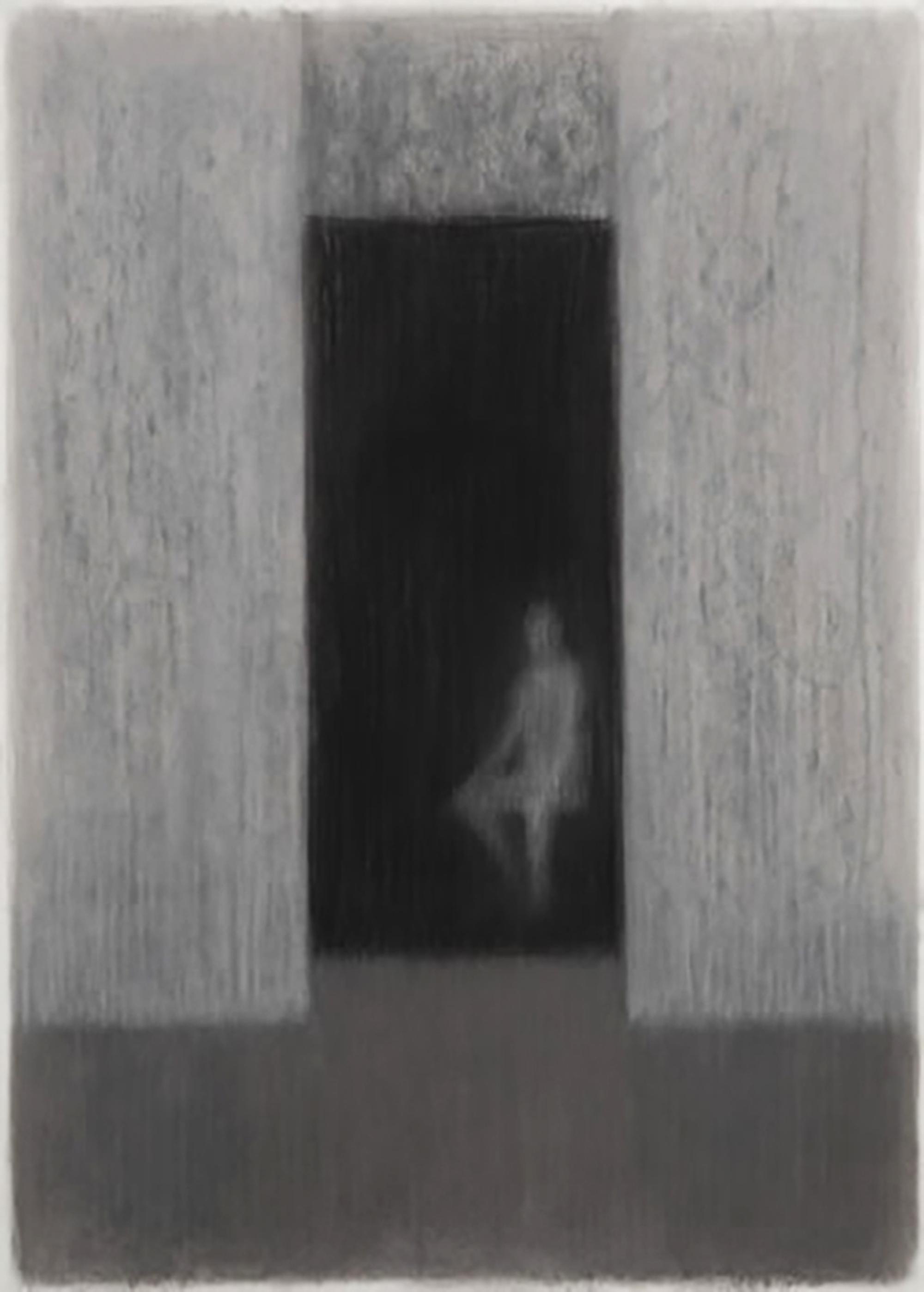 Erich Lindenberg Art Foundation,   Sitzende Figur, 2004 hell im dunklen Raum Collezione Erich Lindemberg Art Foundation