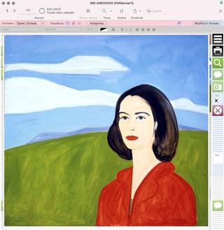 Monica de Cardenas, Particolare dell'immagine  Ogni opera dispone del relativo corredo iconografico. Su ogni scheda dell'opera è immediatamente visibile un ingrandimento dell'immagineprincipale selezionata per identificarla.
