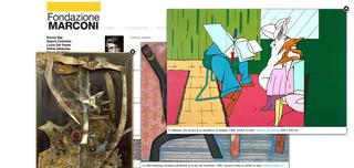 Marconi, L'arte è protagonista  Con il sistema delle immagini pop-up, semplice ma efficace, l'utente può confrontare tra loro più opere spostandole e accostandole con la massima libertà. Sono le opere ad essere le vere protagoniste del sito.