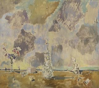 Filippo de Pisis, Filippo de Pisis Grande natura morta,1944 209×186 cm Collezione Museo del Novecento, Milano Proprietà Comune di Milano, Civiche Raccolte d'Arte
