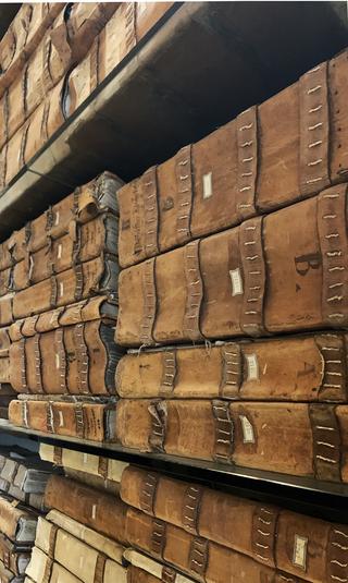 Banca Monte dei Paschi, Archivio storico dei registri della Banca