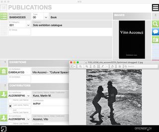 K10 - Archivs, Pubblicazioni  Una soluzione per organizzare il proprio catalogo di pubblicazioni e condividere il proprio lavoro.