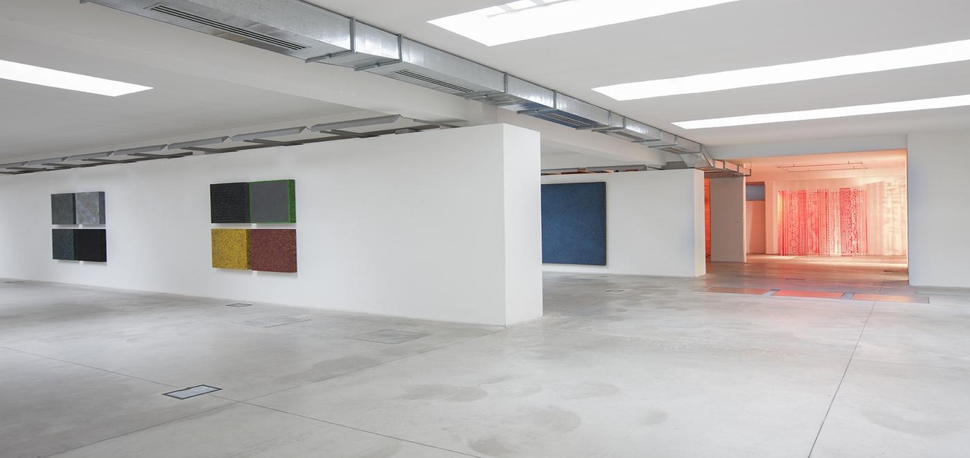 Fritelli Arte Contemporanea, La galleria durante la mostra di Paolo Masinel 2013