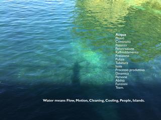 Fuoco, Aria, Acqua, Terra (Mondi Nascosti), Elemento Acqua