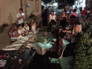 Manto mutante, Festival del Mediterraneo a Lampedusa, 2019