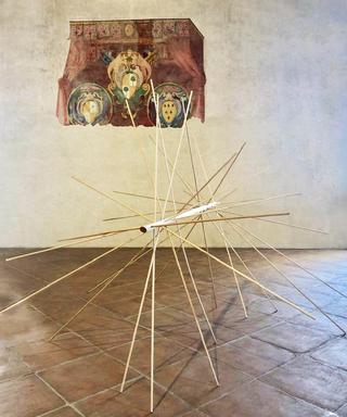 Palafritta, Palafritta, 2018 legno, ottone