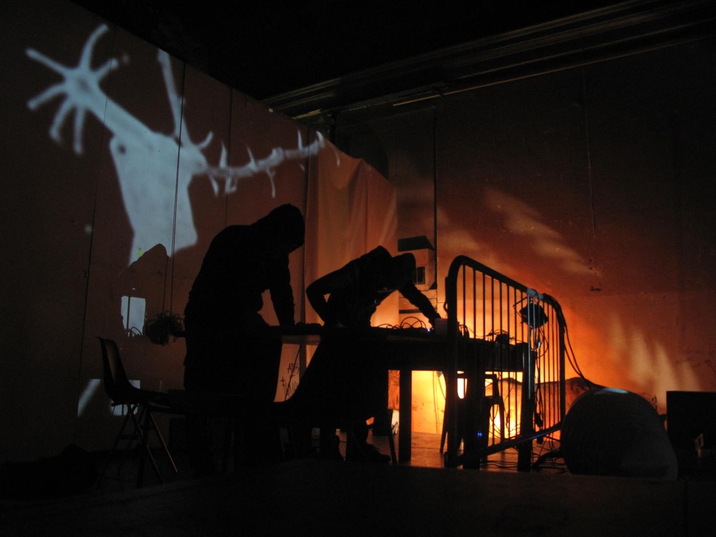 Electro-noise Live at Teatro Guido, Ex Cavallerizza reale, Torino, 2018