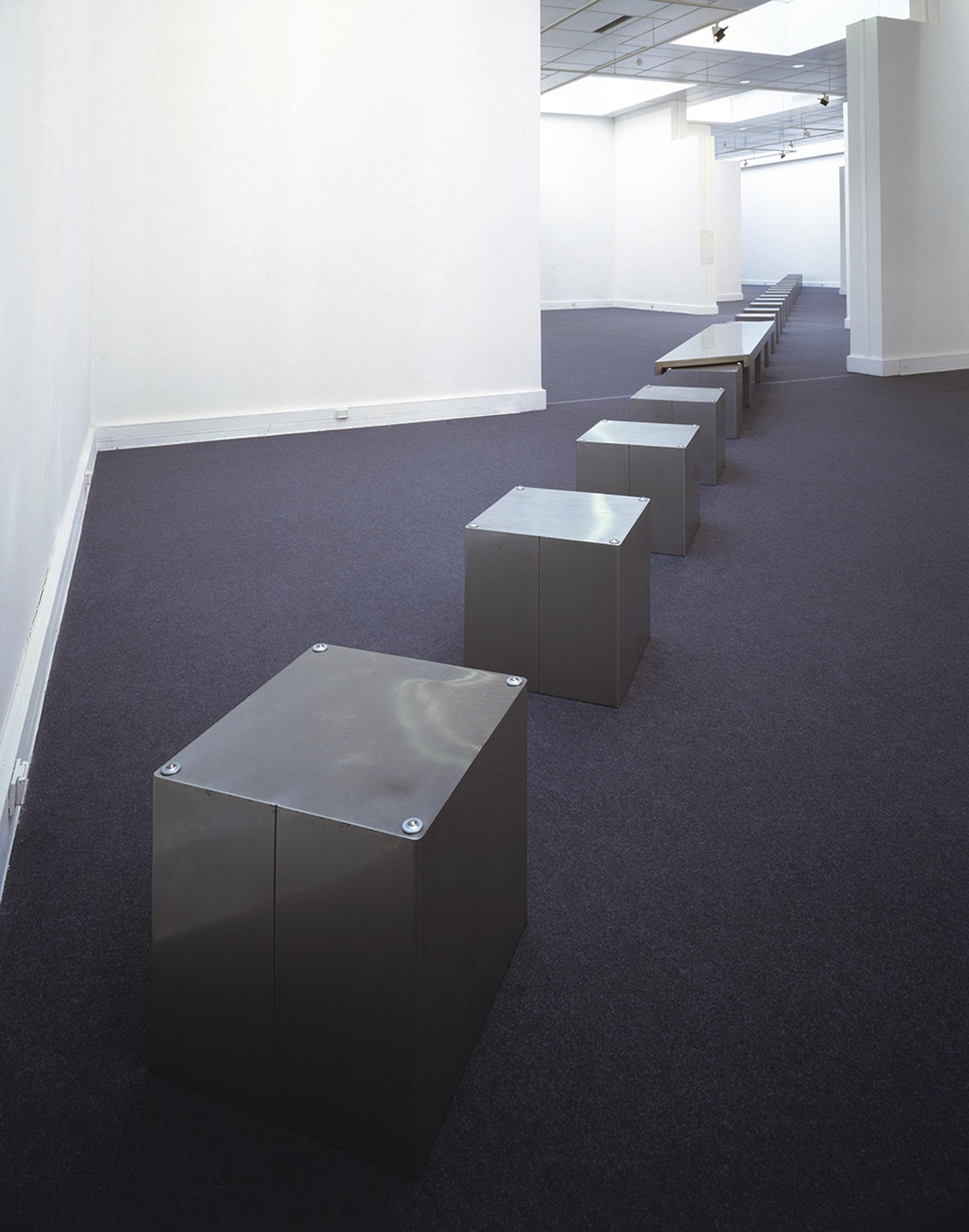 L'Arte stanca, Installazione al Centro per l'Arte Contemporanea Luigi Pecci, Prato, Photo © Antonio Maniscalco