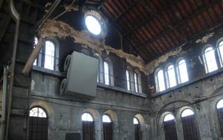 L'alcòva d'acciaio, Modellazione tridimensionale per una prova di collocazione alle Officine Grandi Riparazioni di Torino