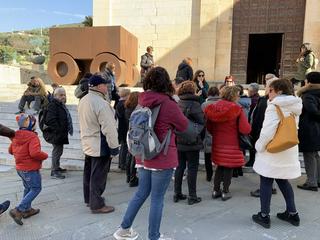 La 74, La 74 sul sagrato della Chiesa di Sant'Agostino, Pietrasanta