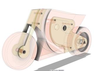 Motocicletta, Modellazione progettuale