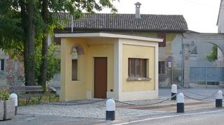 Il Museo pesa, La pesa pubblica di Crotta d'Adda prima dell'intervento, Photo © Umberto Cavenago