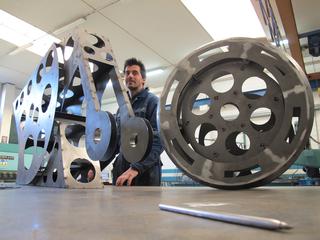 C-DUU, In costruzione con Morgan Rebuzzi, Photo © Umberto Cavenago