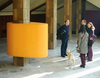 Superfetazione a camme, Installazione al Ridotto del Teatro Manzoni di Monza, Photo © Mario Gorni