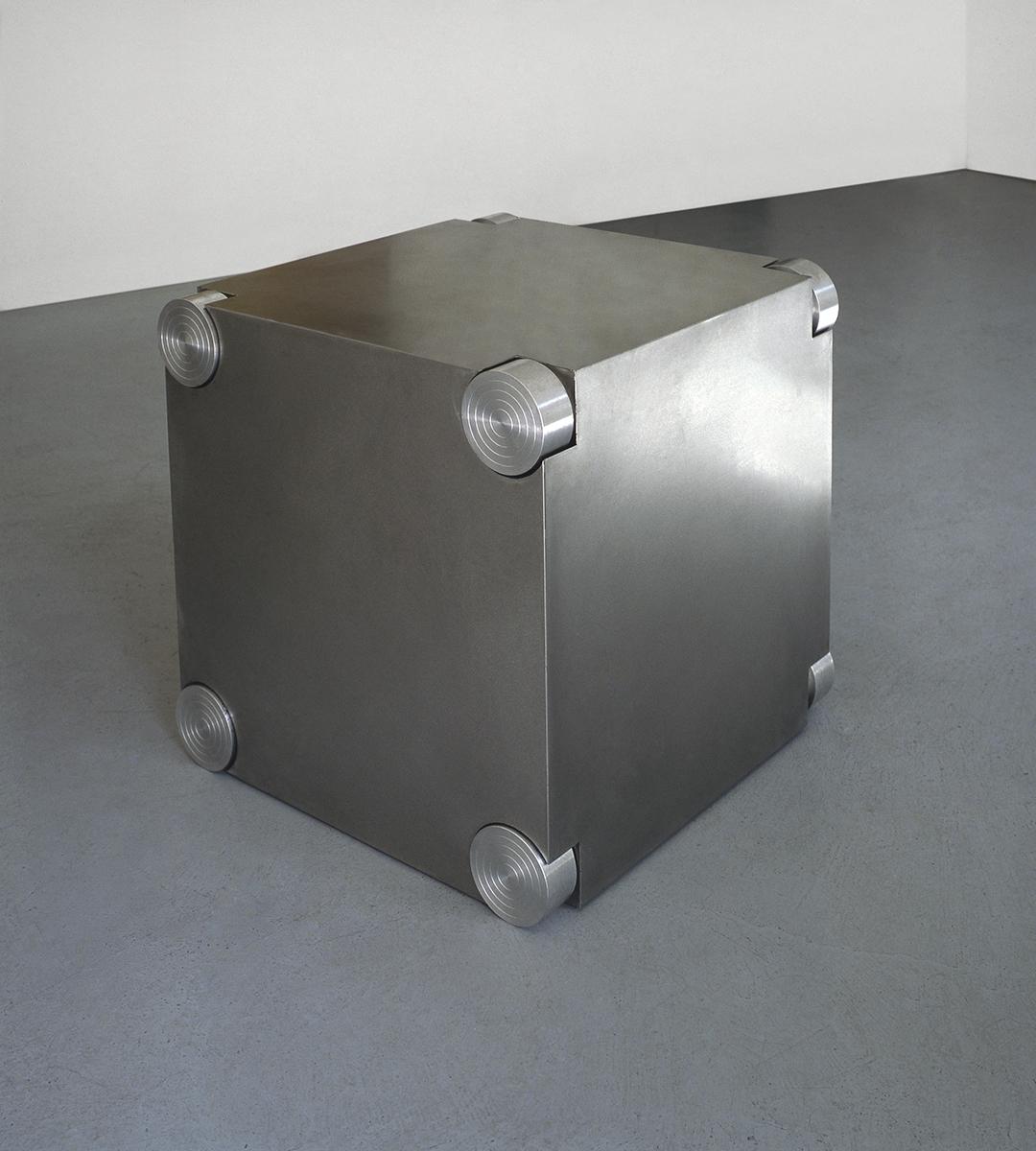 Un metro cubo di scultura