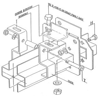 Parassita funzionale, Disegno relativo alle istruzioni di montaggio rilasciato da Orbita srl, © Orbita srl