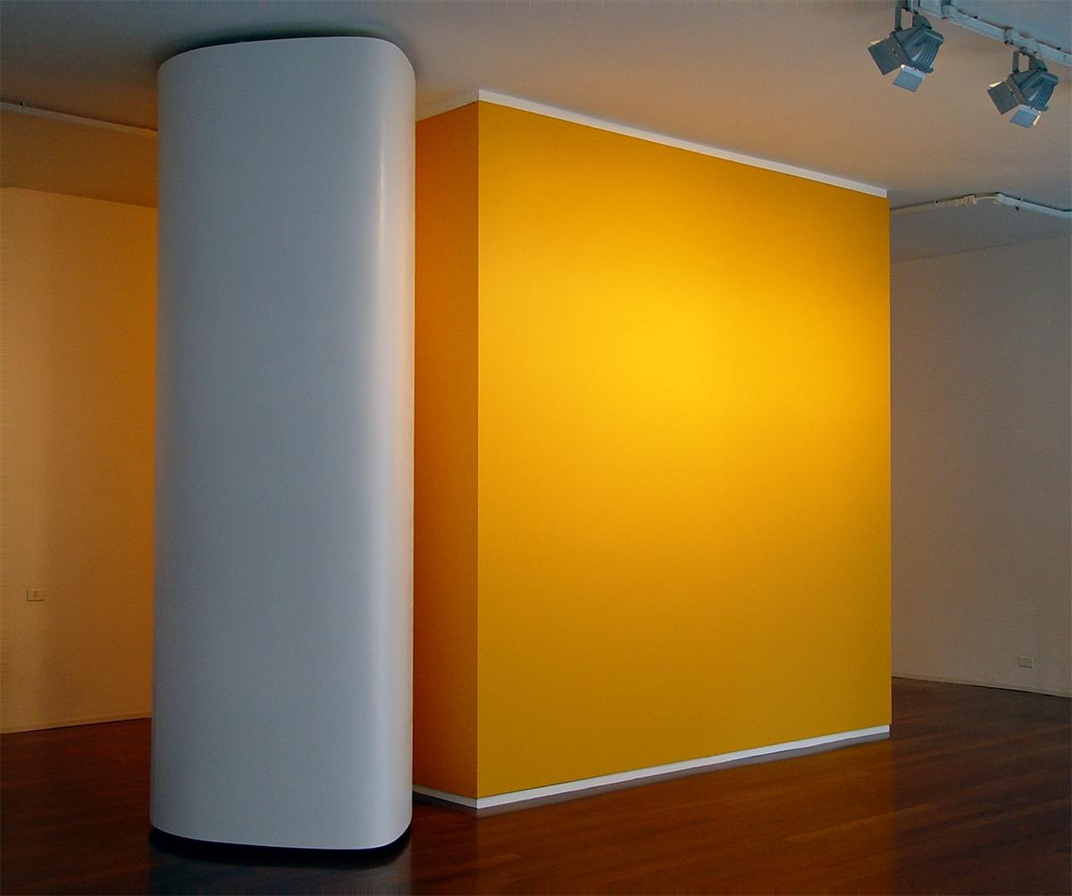 Superfetazione a camme, Installazione site-specific per la Galleria Stefano Fumagalli, Bergamo