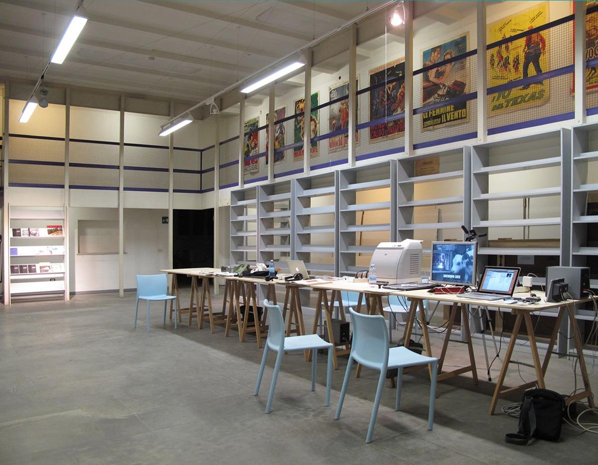 Ufficio di revisione antropica, con Giancarlo Norese, Installazione alla Galleria del Premio Suzzara, Suzzara, MN