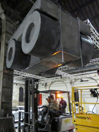 L'alcòva d'acciaio, Officine Grandi Riparazioni di Torino, Photo © Umberto Cavenago