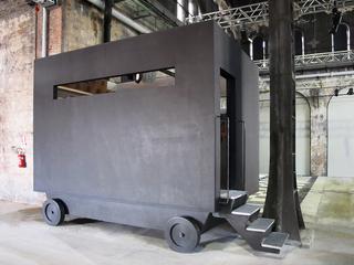 Vetreria Cristiano Bianchin, Installazione alle Officine Grandi Riparazioni, Torino