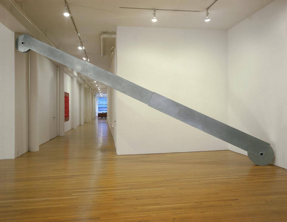 """Telescopico, Installazione alla mostra """"The rules of the game"""" Galleria Salvatore Ala, NY"""