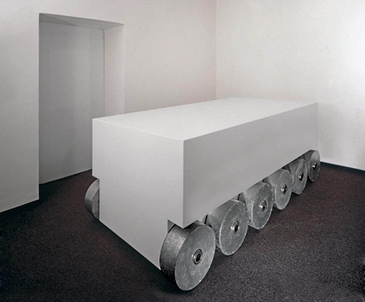 Veicolo a 12 ruote, Galleria Salvatore Galliani, Genova