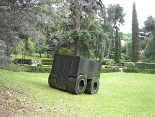 La 74, Installazione a Villa d'Este, Tivoli, Photo © Alessandro Zambianchi