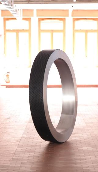 Ringway, Installazione alla Fondazione La Fabbrica del cioccolato, Stabili Cima Norma. Esposizione