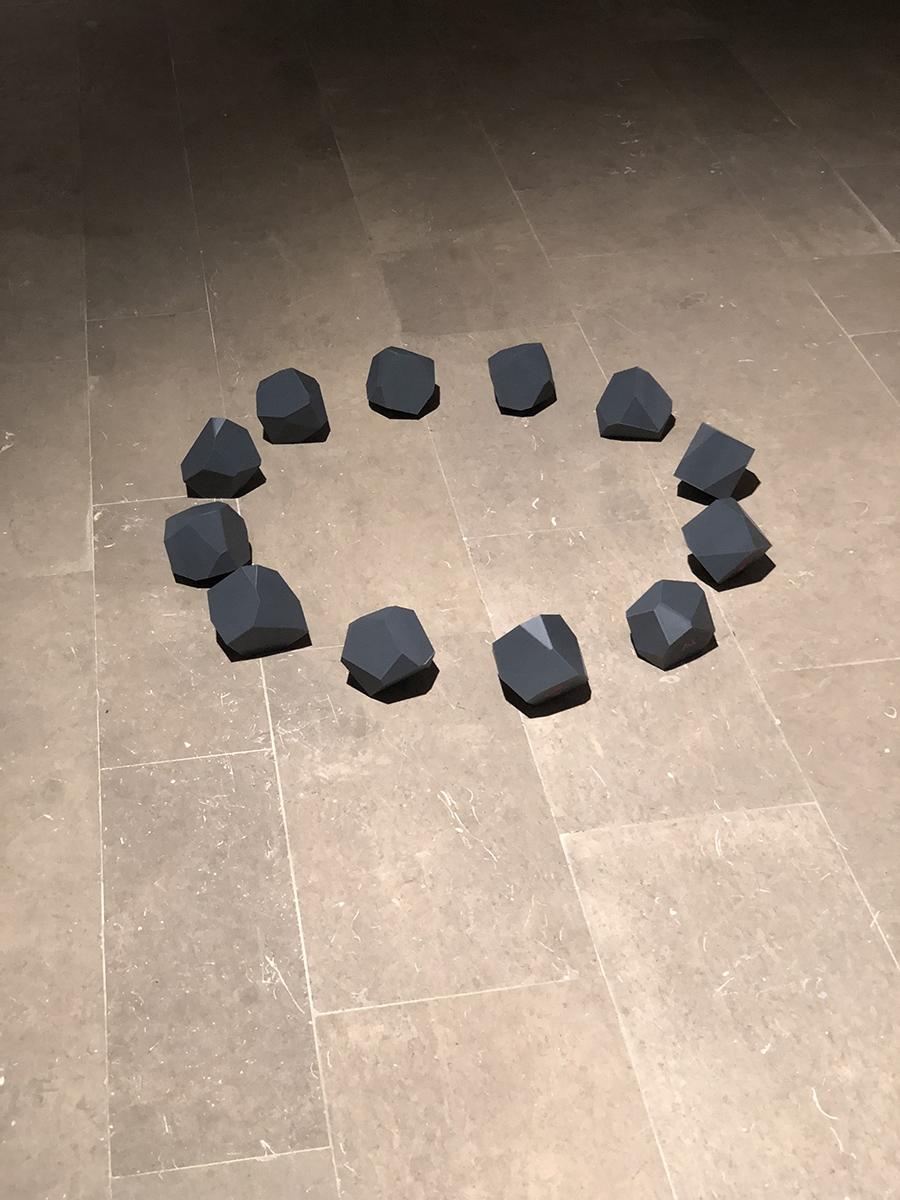 12 tetracaidecaedri irregolari calibro 75