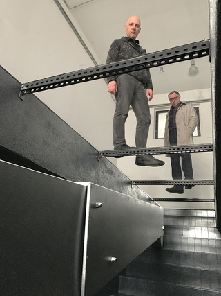 Telescopico, The (black) hole, NONMUSEO Liceo Artistico Angelo Frattini, Varese, 2019. A cura di Luca Scarabelli