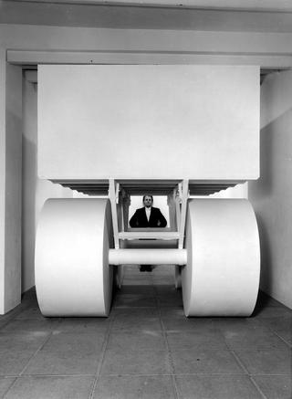 Half Ton, Installazione alla Galleria Studio Marconi 17, Milano, Photo © Paolo Vandrasch