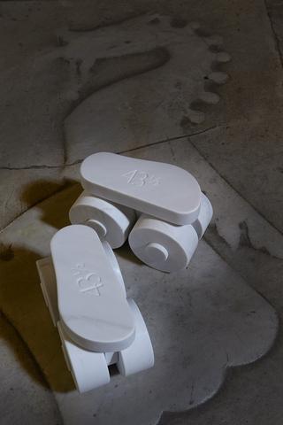 Pattini a rotelle, Nº43½, Photo © Bart Herreman