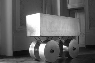 Camion, Installazione al Castello di Rivara, Rivara Canavese(Torino), Photo © Nadia Ponci