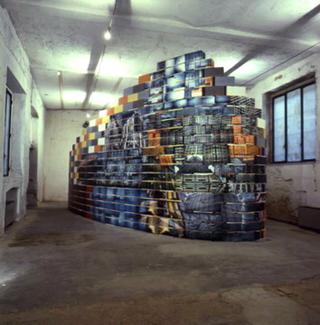 Alan Belcher, Complex Milano, Veduta dell'installazione