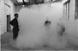 Il Cieco e Il Topo, Armando della Vittoria & Co., Gattosilvestro, VedovaMAZZEI, L'orientamento nello spazio era reso impraticabile grazie a una fitta nebbia artificiale