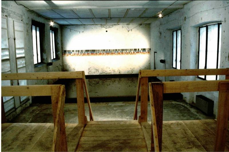 Salvatore Falci, Canalizzazioni, Aggregazione '94, canalizzazioni, veduta della installazione