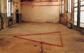 Alberto Zanazzo, P Crime Scene, P/Crime Scene, lo spazio
