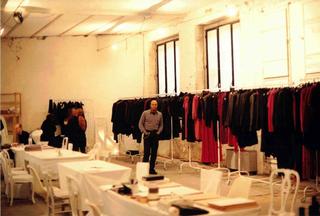 Martin Margiela Collection at Viafarini, Martin Margiela a Viafarini