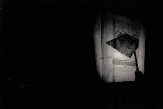 Alberto Zanazzo, P Crime Scene, Intervento dello scienziato Massimo Brambilla. Foto di Davide Bonasia