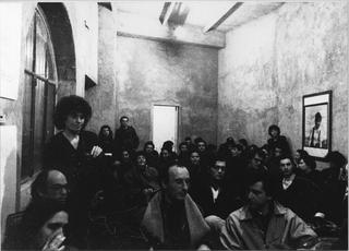 Il bello e il brutto del tempo, Sulla sinistra, Patrizia Brusarosco con Tullio Brunone