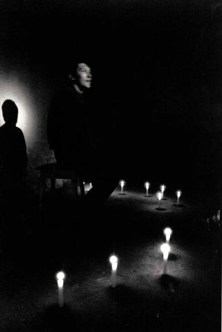 Alberto Zanazzo, P Crime Scene, Intervento dell'attore Massimo Arrigoni. Foto di Davide Bonasia